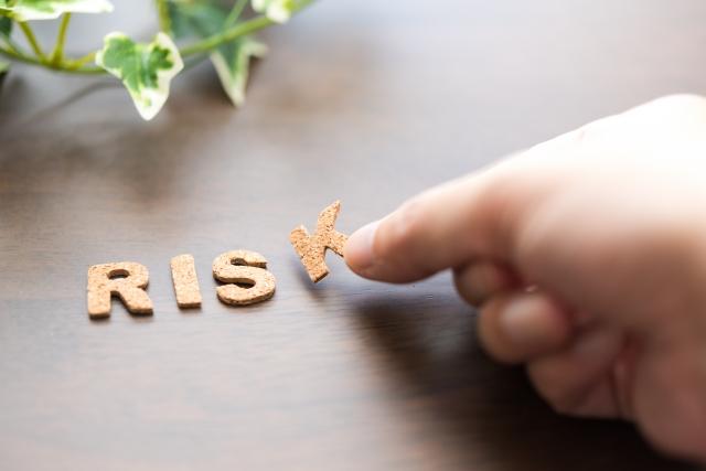 RISKの文字を作る